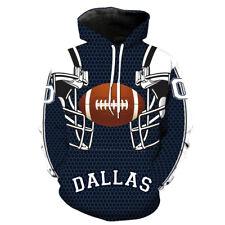 Dallas Cowboys Hoodies 3D Print Hoodie Men's Sweatshirt Pullover Hooded Sweater
