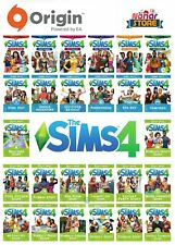 The Sims 4 All Expansions Stuff Packs ORIGIN Digital Key For PC Fast Delivery