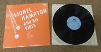 Lionel Hampton - The Most Lionel Hampton and His Vibes LP - S2001 - VG+