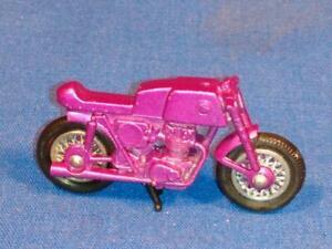 RARE Purple Honda Motorcycle for 1970 Matchbox #38 Honda Trailer  NEAR MINT! PF1