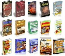 50 Different books of Delicious Recipes PDF Ebooks +Master Resell Rights + bonus