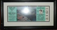 1970 Framed Ticket First Opening Game in Three Rivers Stadium Pittsburgh Pirates