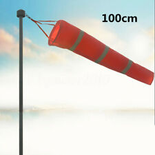 US 40'' Airport Windsock Aviation Outdoor Wind Sock Measurement Bag Camping
