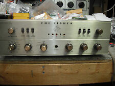 Fisher X-202B Stereo Tube Integrated Amp, super and restored!