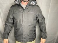 Kathmandu Mens M ngx2 Black Waterproof Windproof Hiking Backpacking Rain Jacket
