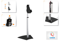 Anti-Theft Tablet Holder Stand Free Standing Kiosk For Ipad 1 2 3 4 Air Galaxy