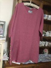 Knee Length Linen Dresses Tunic/Smock Dress