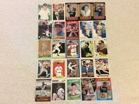 HALL OF FAME Baseball Card Lot 1960-2019 WILLIE MCCOVEY NOLAN RYAN TOM SEAVER