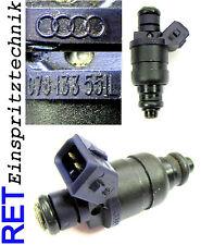 Einspritzdüse 078133551L Audi A 6 2,8 V6 gereinigt & geprüft