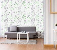 3D Purple Petals Leaf 12 Wallpaper Mural Wall Print Decal Indoor Murals Au Lemon