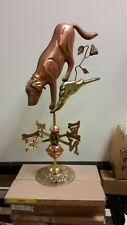 Copper & Brass small Dog And Bones weathervane .Great deal limited quantities