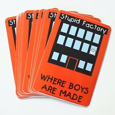 Wholesale Vinyl Stickers Official David & Goliath Stupid Factory