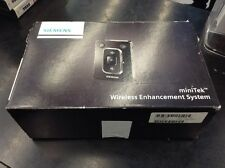 Apparecchio Acustico Hearing Aid Siemens MiniTek Set Wireless Enhancement System