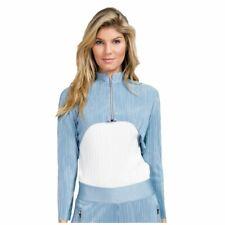 NWT Jamie Sadock Womens Large Cropped Crunch Jacket Atomica Long Sleeve-I16
