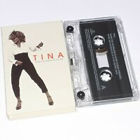 TINA TURNER WHEN THE HEARTACHE IS OVER 1999 CASSETTE TAPE SINGLE POP ROCK