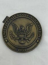 United States Golf Association 1894 Commemorative Metal Magnet Medallion