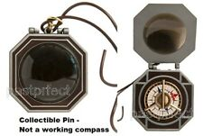Disney LE 500 Pin D23 Jack Sparrow Compass Pirate of the Caribbean Replica Opens