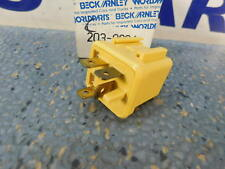 for Datsun Nissan Beck/Arnley 203-0004 Horn Relay   Yellow or Black   1977-1989
