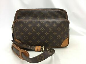 "Auth Louis Vuitton Vintage Monogram Nile Shoulder Bag 0i230110n"""