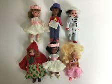 "McDonald's Madame Alexander Lot of 6 Dolls 5"" 2002 2003"