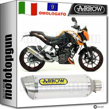 ARROW SCARICO OMOLOGATO THUNDER ALLUMINIO KTM DUKE 125 2011 11 2012 12 2013 13