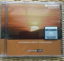 Otmar SUITNER: BRUCKNER  Sinfonie No.4 Romantic Staatskapelle Berlin SADC NEU!!!