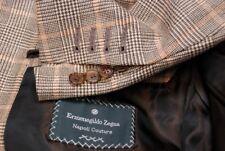 Gorgeous ERMENEGILDO ZEGNA NAPOLI COUTURE XXX 3B plaid sport jacket 42R 42 R