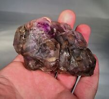 Palm Sized Elestial Purple/Pink Amethyst from Little Gem Mine - Montana USA