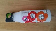 Alfi elementBottle Trinkflasche, Edelstahl Flasche m Drehverschluss Blumen 600ml