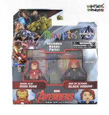 Marvel Minimates TRU Avengers Age of Ultron Movie XLIII Iron Man & Black Widow