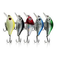 5Pcs/Lot Plastic Fishing Lures Bait Floating Non-Toxic Hooks 5.5cm 8g