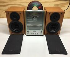 Sony Portable CD AM/FM Compact Shelf Bookcase Stereo System CMT-EX1