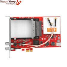 Tbs6590 Multicolore Standard Dual Tuner ci PCIe TV Numérique Carte pour IPTV