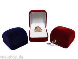 Schmuckschachtel Ringetuis Ringbox Ringschachtel Verpackung Farben