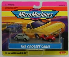 MicroMachines The coolest Cars 64 VW Bug and Ferrari 250TR