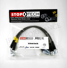 STOPTECH STAINLESS STEEL FRONT BRAKE LINES FOR 07-11 LEXUS GS350 GS450h GS460