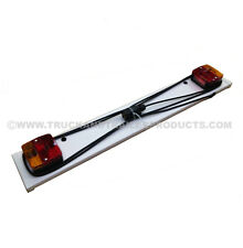 "Trailer Light Board - 3"" Long - 7 Pin Plug on 4 Meter Cable - Trailer - Horsebox"