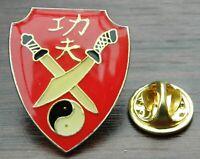 YIN YANG  Lot of 5  BUTTONs pins  TAO balance badge pinback punk Eastern Zen BIG