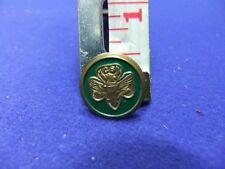 vtg badge girl guides scouts usa american gs brooch green member membership