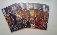 Captain America Reborn #1-6 Complete Series Winter Soldier Ed Brubaker NM