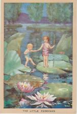 More details for hester margeston the little ferryman original postcard 1930s 40s fairy
