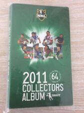 2011 NRL Swapz Collector Card Album  New!