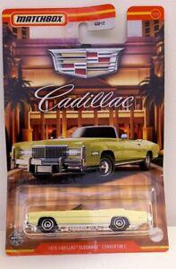 Matchbox Cadillac Series. 75 Cadillac Eldorado . Neuf en boite.