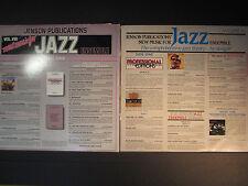 5 Jazz sampler LPs, Jensen Publications New Music for Jazz Ensemble, all EX