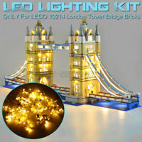 LED Light Lighting Kit ONLY For LEGO 10214 London Tower Bridge Bilding Block