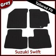 SUZUKI SWIFT 2010 2011 2012 Tailored Fitted Carpet Car Mats GREY