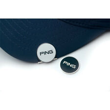 Ping Magnetic Hat Clip with Two Ball Markers Black/Silver & White/Silver