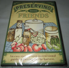 Preserving with Friends Putting Up Harvest/Canning Instructional DVD Video NEW!