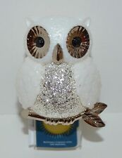 NEW BATH BODY WORKS WHITE SNOW OWL WALLFLOWER NIGHT LIGHT FRAGRANCE PLUG IN UNIT