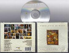 TWELFTH NIGHT - Collectors Item (Best 1982-1990) CD Original Import Prog RARE